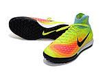 Сороконожки Nike MagistaX Proximo II TF light green, фото 3
