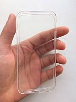 Прозрачный силиконовый чехол бампер iphone 5/5s/se