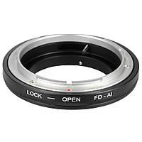 Адаптер Canon FD - Nikon , фото 1