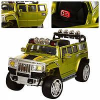 Детский электромобиль Джип HUMMER EVA 6850 зеленый