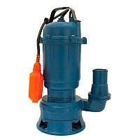 Насос канализационный 1.1кВт Hmax 10м Qmax 200л/мин Wetron