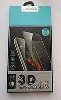 Защитное USAMS 3D стекло Apple Iphone 6 6S White