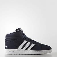 Высокие кроссовки мужские Adidas VS Hoops Mid Neo F99532