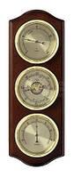 Метеостанция TFA, орех, d=80/80/80 мм, 338х122х40 мм