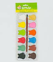 Краски акварельные 01433 (600) 12 цветов, в кульке
