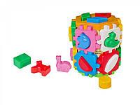 """Іграшка куб """"Розумний малюк Конструктор ТехноК"""", арт. 2001"""