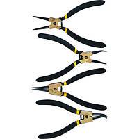 Набор съемников стопорных колец 4шт 180мм
