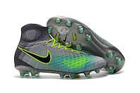 Бутсы Nike Magista Obra 2 FG grey-green