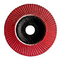 Круг лепестково торцевой на керамической основе 125x22 SA 120