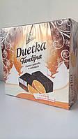 Конфеты птичье молоко с прослойкой желе из апельсинового сока в шоколаде Duetka Польша 400г