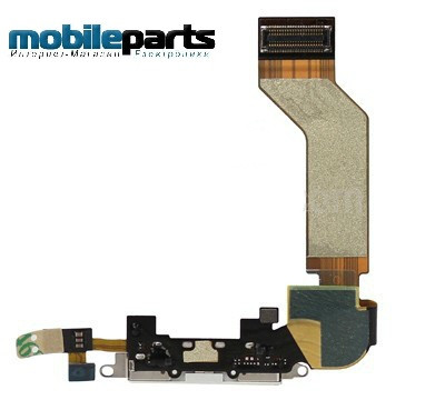 Шлейф разъем заряда (сharge connector) для Apple iPhone 4GS (High Copy)