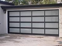 Панорамные гаражные ворота