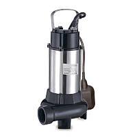 Насос канализационный 1.1кВт Hmax 10м Qmax 270л/мин
