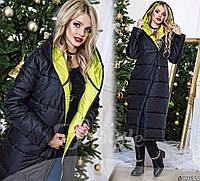 Женское зимнее пальто №063-107
