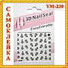 Наклейки для Ногтей Самоклеющиеся 3D Nail Seal Professional Enjoy Everyday YM-230