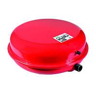 Бак для системы отопления 10л плоский Ø325