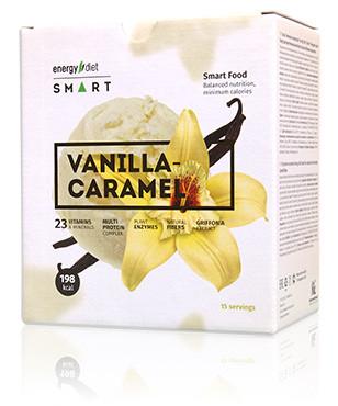 Энерджи Диет Смарт Energy Diet Smart Ваниль Карамель Белковый коктейль для похудения 15 саше