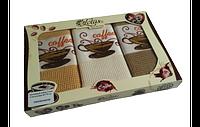 Набор вафельных полотенец Coffee 45х70 - 3 шт Lotus Код:90-8716273