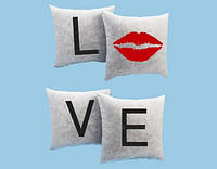 Подушка - квартет Love