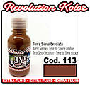 JVR Revolution Kolor, opaque burnt sienna #113,10ml, фото 2