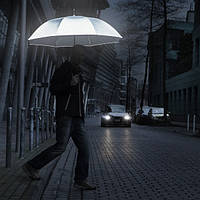 Зонт трость Fare 7471 с отражающим эффектом