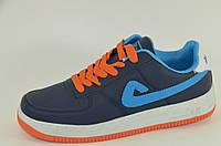 Модные и стильные мужские кроссовки сине-голубые  Размеры 41,43, 44