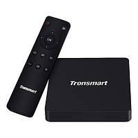 Медиаплеер:Tronsmart Vega S96 Anoroid 6.0 TV Box AML S912 Octa-core 2/16G Gigabit Lan Dual WiFi(автофреймрейт)