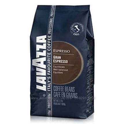 Кофе в зернах Lavazza Gran Espresso 1кг, фото 2