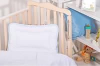 Подушка Baby Сатин (голубой)