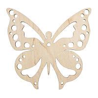 Заготовка Бабочка, фанера, 15х15 см