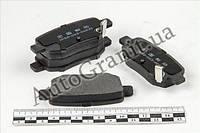 Колодки тормозные задние, LIFAN X60, SS35002