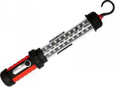 YATO Світильник переносний світлодіодний  27 LED акумулят. 3,6 V з зарядкою від 220 V