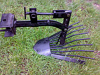 Картоплевиорювач до мотоблока, лапа копачка, фото 1