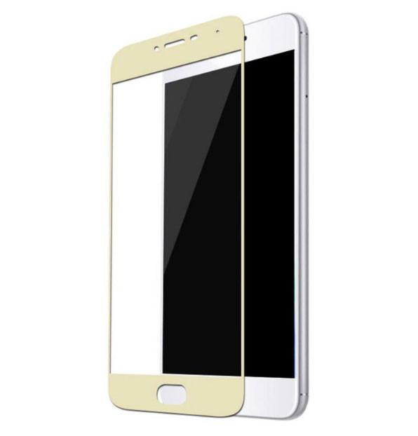 Full Cover защитное стекло для Meizu M3 / M3s - Gold
