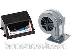 Комплект автоматики KG Elektronik SP-05 + DP-02 (для котла с вентилятором)