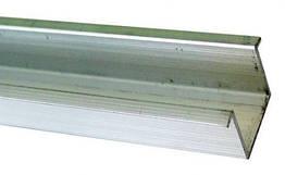 Алюминиевый профиль нижний DS 0,9м EKF для дверной раздвижной системы