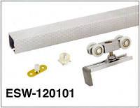 Рейка для раздвижных систем EKF профиль 120-101 (1,5m)