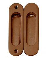 Ручки для межкомнатных раздвижных дверей USK AB бронза (комплект 2шт)