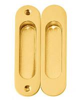 Ручки для межкомнатных раздвижных дверей USK РВ золото (комплект 2шт)