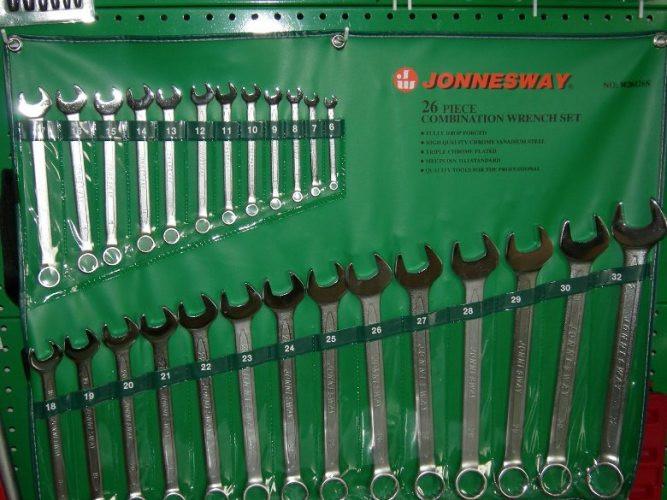 Набор ключей комбинированных 6-32 мм