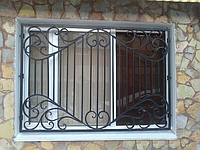 Кованая решетка с узором