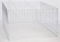 Вольер цинк 4 секции 100х100х60 см 8 кг