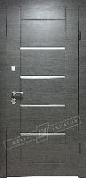 Двери входные в квартиру (три контура+моттура)  модель Аккорд