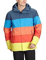 Горнолыжная куртка QUIKSILVER FRACTURE INS JKT DEEP BLU INDIGO, фото 1