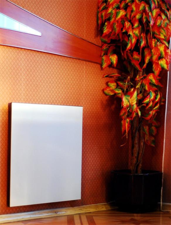 Установка керамических электропанелей Альмера в одном из частных домов