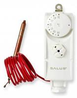 Терморегулятор с капиллярной трубкой (выносным датчиком) SALUS AT10F для включения насосов, котла, клапанов