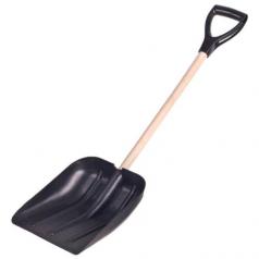 Лопата автомобильная с деревянной ручкой 94см для уборки снега