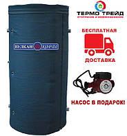 Буферная емкость Корди АЕ-20-2TI 2000 л. с двумя теплообменниками
