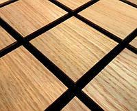 Звукопоглощающая акустическая панель «Grid 50» (50*50 см). Светлая