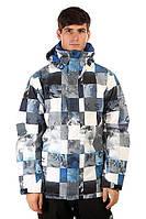 Горнолыжная куртка  QUIKSILVER MISSION PRINT CHECK KASPERS SNOW, фото 1